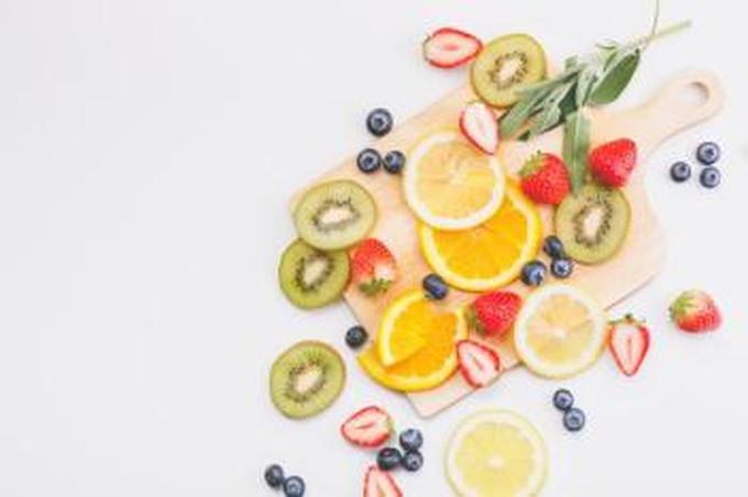 ビタミンで栄養補給