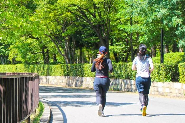 運動で適量の汗をかく