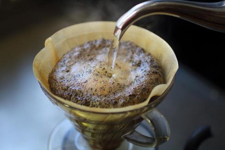 ソロキャンプのコーヒーは格別