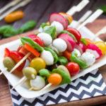 野菜の串焼き
