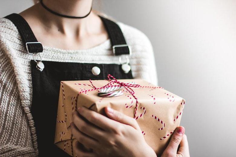 贈り物に感謝の気持ちを込める